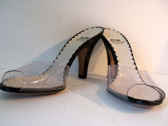 Vintage Never Worn Moschino Summer Heels