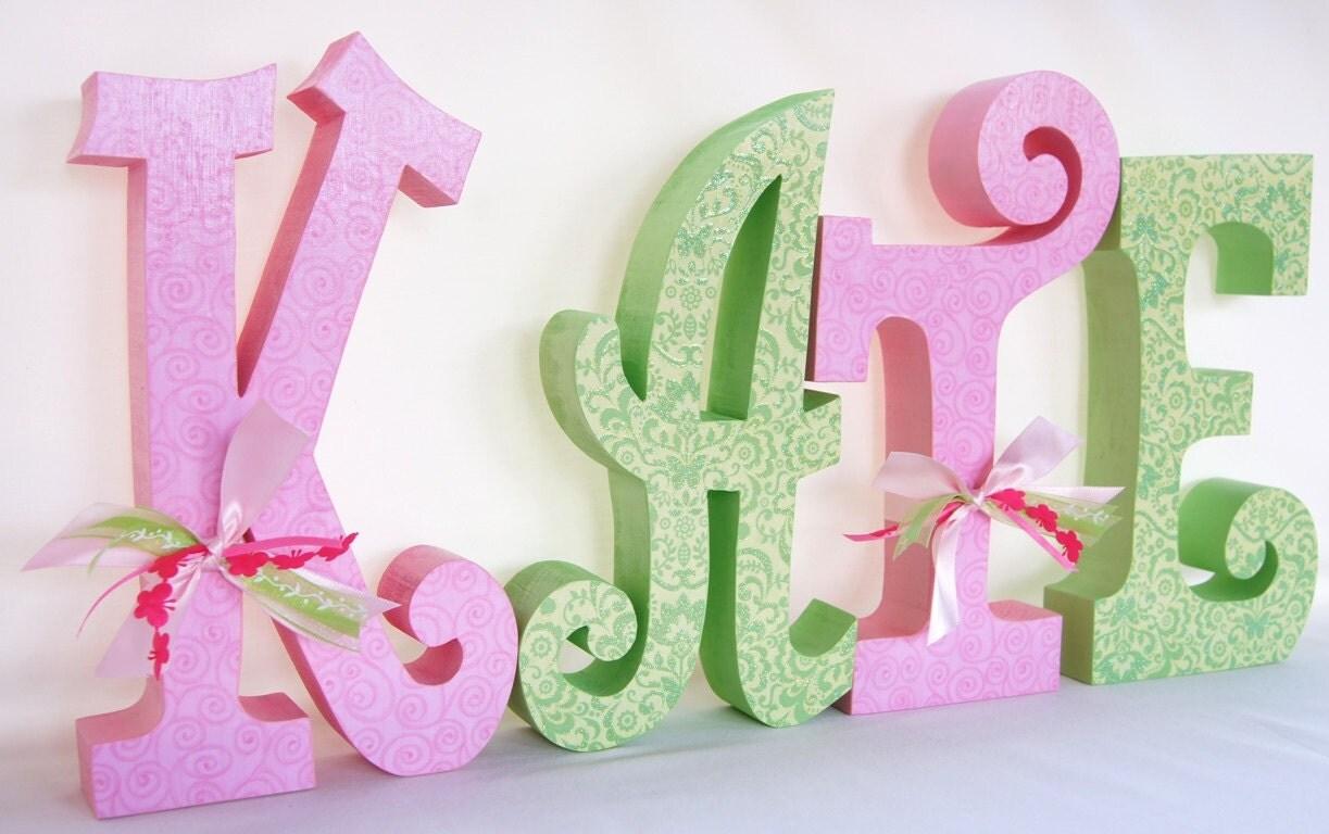 Items Similar To Baby Girl Custom Name Wooden Nursery