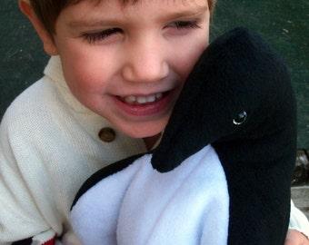 Large Stuffed Penguin