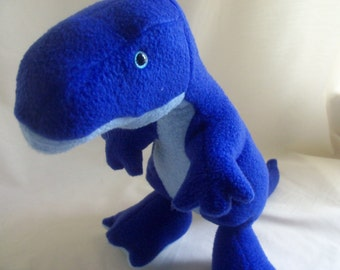 Blue T Rex Plush Toy