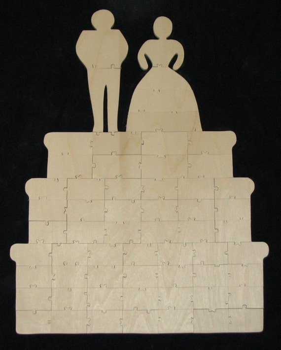 wedding cake layers crossword clue 60 pc wedding cake guestbook alternative cut wooden 23072