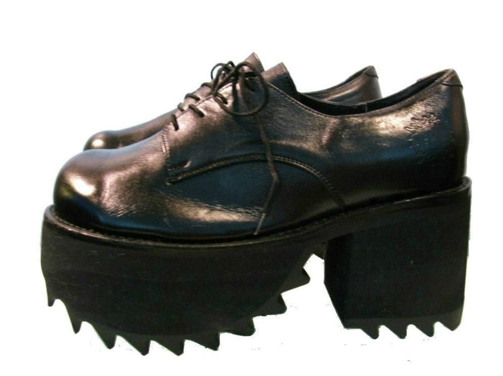 Mens Platform Shoes Vintage