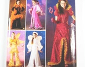 Sz 3/4/5/6 - Simplicity Costume Pattern 0518 - Girl's Angel, Fairy, Devil, Witch or Princess Costumes