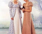 Butterick Costume Pattern 6630 - Misses' Coat and Dress - Historical Pattern - SZ 6/8/10