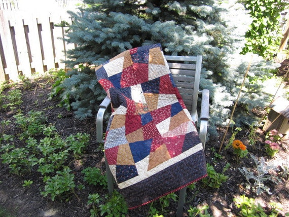 Crazy Patch Quilt