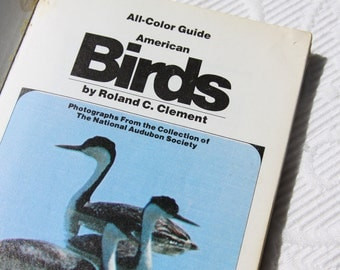 1973 Guide to North American Birds Paperback Color Photography