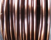 12 ft -- 24 gauge NonTarnish Viking Knit crochet Antique Copper  Wire