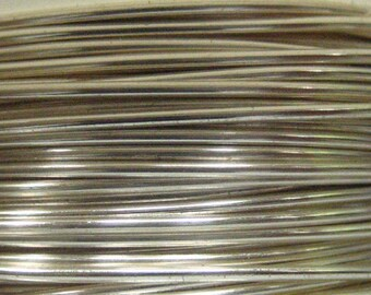 WIRE 26 gauge Non Tarnish Silver Viking Knit Crochet Wire 45 ft