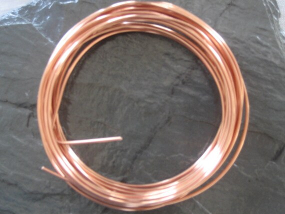 Copper Wire 10 ft -- 18 gauge
