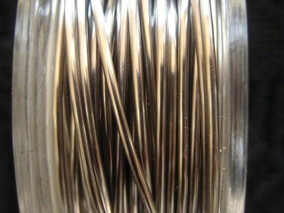 10 ft -- 20 gauge NonTarnish Titanium Wire