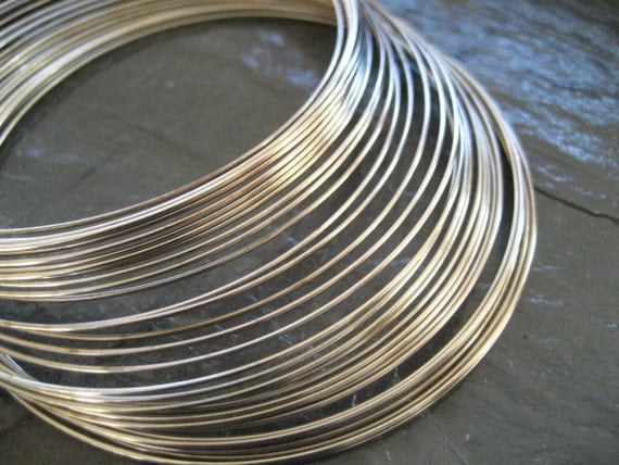 Memory Wire 55mm - 60mm for bracelet bangle cuff 30 loops