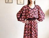 Chiffon Dress //  Floral Dress  //  UP UP and AWAY