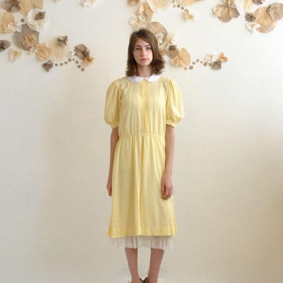 Peter Pan Collar Dress  //  School Dress  //  THE BUTTERCUP