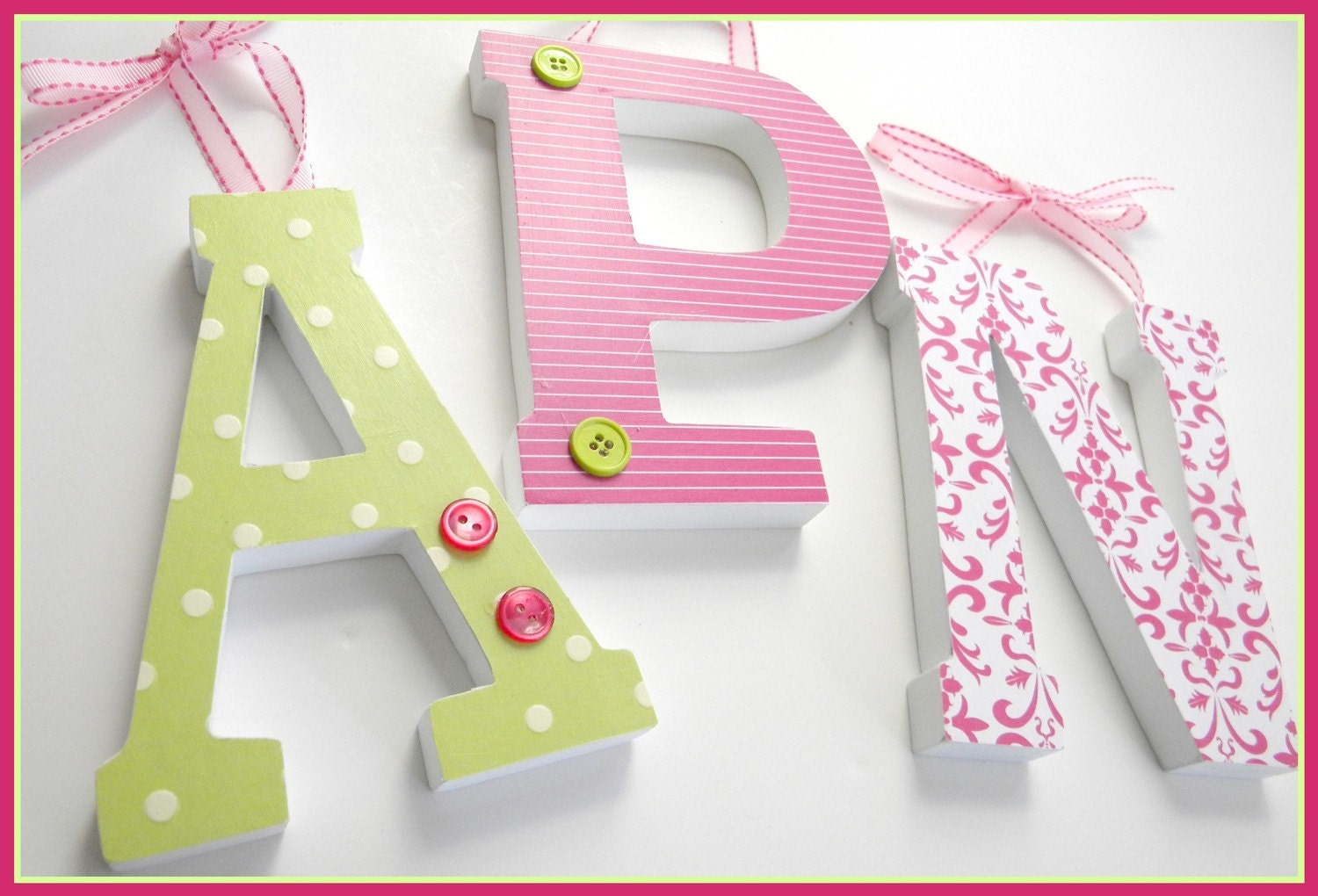 Set of 3 wooden letters value priced six inch by for 3 inch wooden letters