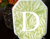 Green Leaf Personalized Plaque