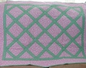 Baby Girl Pink Butterfly Quilt