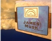 SOAP - JAMES MUSK - with Organic Oils and Skin Softening Shea Butter by Man Cave Soapworks