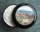 MENS BODY CREAM - Chick Magnet -  Lotion, Moisturizer, Body Creme 4 oz. Your Choice of Fragrance by Man Cave Soapworks