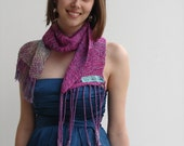 Woven and Hand Dyed Scarf