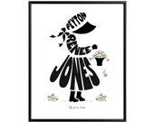 Personalized Little Girl or Little Boy Silhouette Print, Custom Framed Art, Birthday Gift for Children