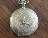 Vintage Ornate Hunter Watch Case