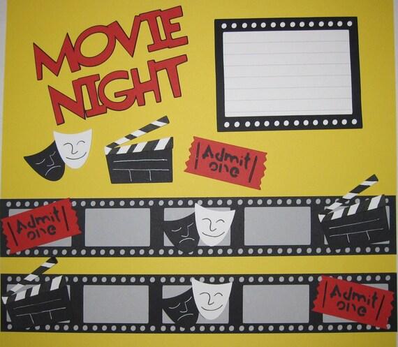 March Movie Report | WalkieTalkieBookClub  |Movie Night Page Background