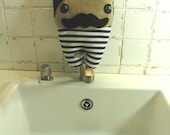 Victorian Swimmer  - Old Fashioned Dude in His Elegant Swimsuit. Striped plush man, funny and friendly. Loves kisses and hugs :)
