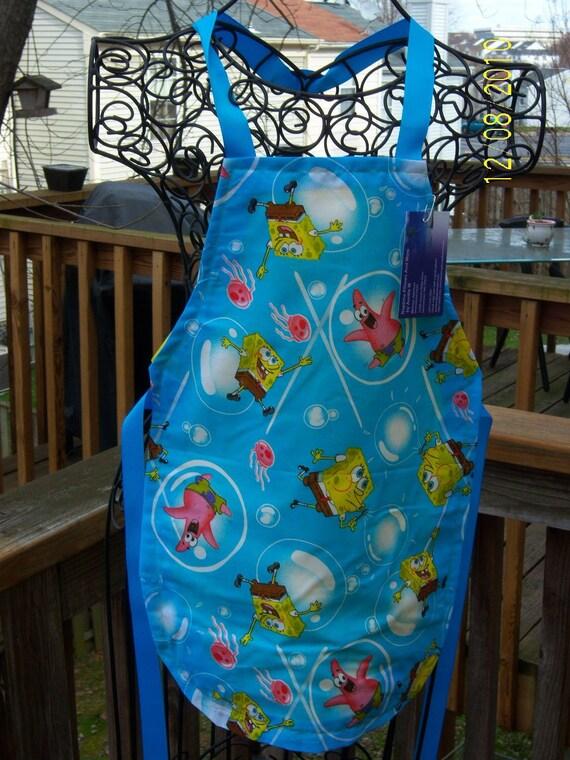 Sponge Bob Bubbles Kids Apron