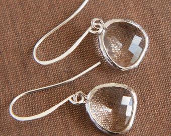 Silver Earrings,Delicate Earrings,,Drop Earrings,Bridesmaids,Dangle Earrings,Bridesmaids Gift,Bride Earrings,Bridesmaids Earrings