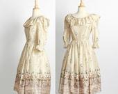 vintage 1970s Party Dress / sale