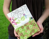 The Charlotte fabric covered notebook by Sarah and Jane