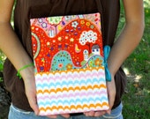 The Allison fabric covered notebook by Sarah and Jane