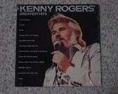 Vintage 1980 Vinyl LP Record Album  Kenny Rogers Greatest Hits