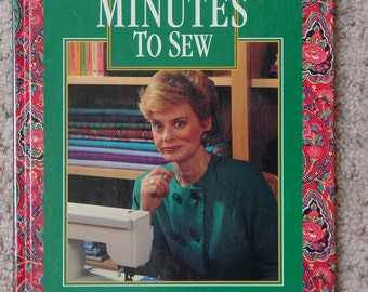 10-20-3- Minutes To Sew by Nancy Zieman Sewing Instructional Book