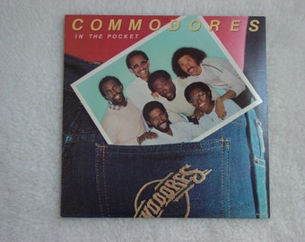 "Vintage Vinyl LP "" Commdores "" "" In The Pocket "" Album"