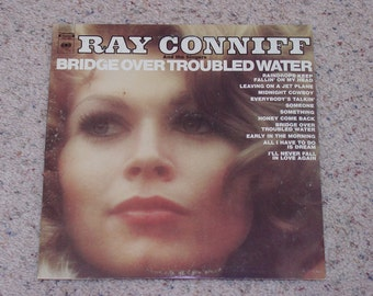 "Vintage Vinyl LP "" Ray Coniff and Singers Bridge Over Troubled Water """