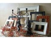 Halloween Decor - Frame grouping - Home decor - Frame Set - Picture frames - Seasonal - Frame collection - Gallery frames