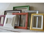 PICTURE FRAMES - Frame Grouping - Autumn collection  - Home decor - Gallery frames - Fall Decor -Vintage inspired - Cottage Decor