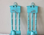 Vintage Sconces - Cottage Chic - Shabby and Chic Home decor