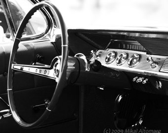 Classic Inside -  8x10 Fine Art, Black and White, Matted (11x14) and Mounted Print
