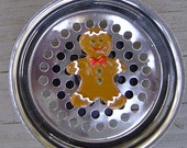 Gingerbread man Stainless Steel Kitchen Sink Strainer Drain Plug.. Check out our Sink Full of Themes. Stocking Stuffer