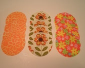 One Dozen Two & A Half inch Die Cut Fabric Circle Assortment One Low Price Style 624