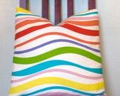 Wavy Stripy Cushion Cover