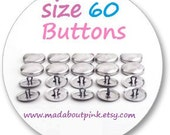 Size 60 - Cover button 20pcs/pack