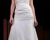 Reserved Listing for rkaller - Strapless Wedding Gown - Size 8/10 Sample