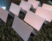 160 blank escort cards- white