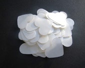 ON SALE- 1,000 Dissolving/Biodegradable Heart confetti