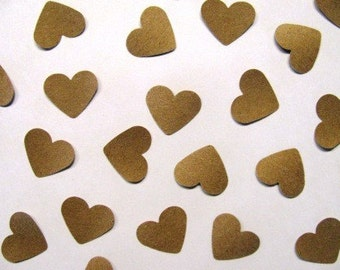 kraft paper- 1 inch hearts- 5,000 count