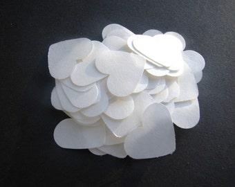 20,000 Dissolving/Biodegradable Heart confetti