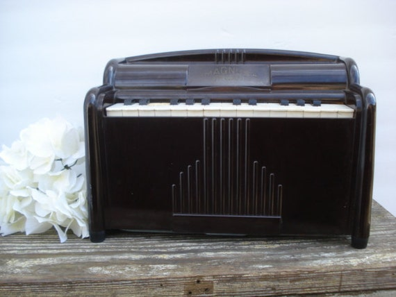 Vintage Magnus Organ Electric Laptop Toy Bakelite